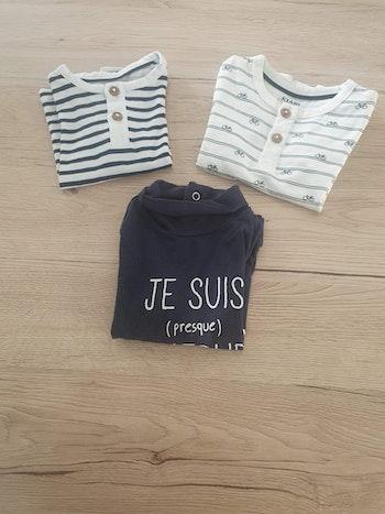 Tee-shirt garçon 3 mois