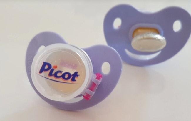 2 sucettes doseuses médicaments PICOT