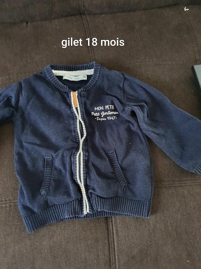 Gilet 18 mois