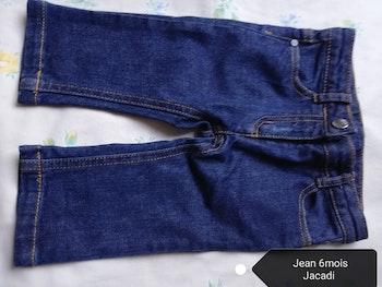 Pantalon Jean Jacadi. 6mois