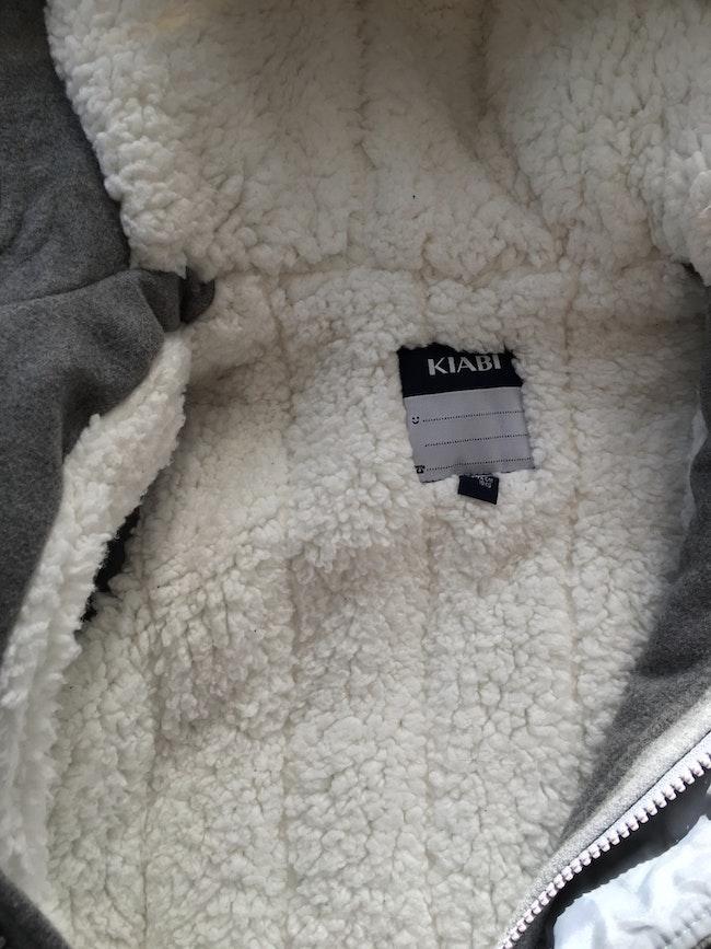 Manteau gris renard