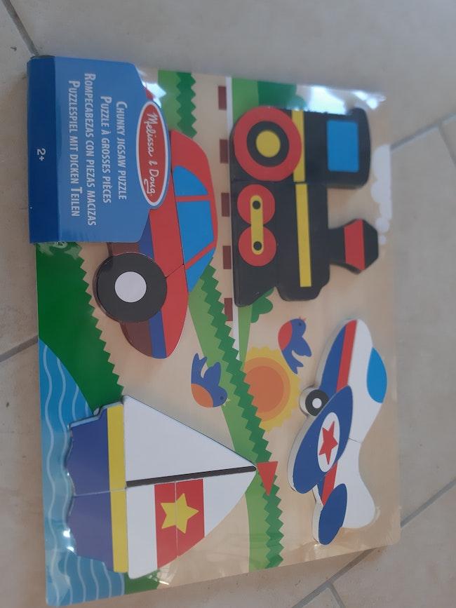 Puzzle bois neuf