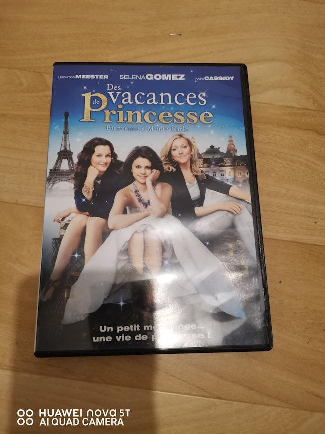DVD des vacances de princesses