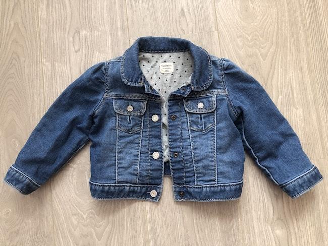 Veste en jean doublée (18-24 mois)