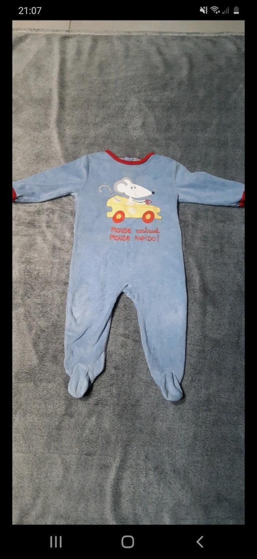 Pyjama bleu 12 mois