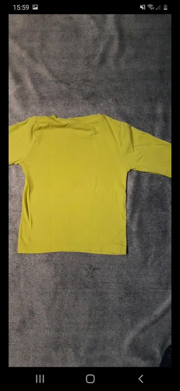 Tee-shirt jaune 3 ans