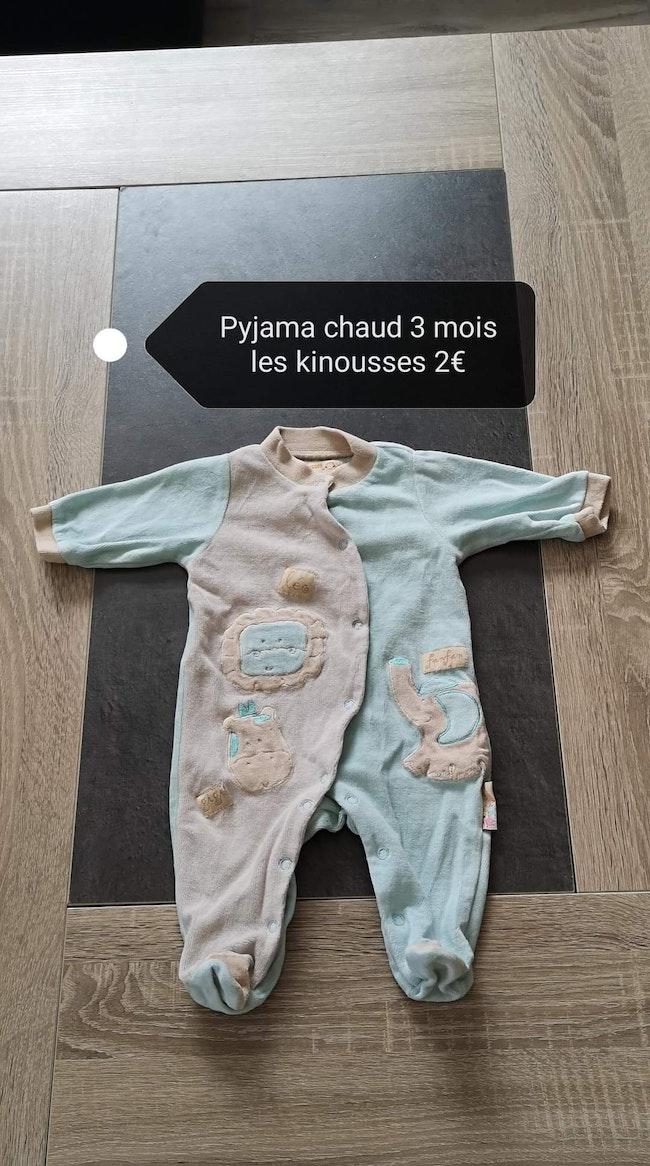 Lot pyjamas + bodys 3 mois