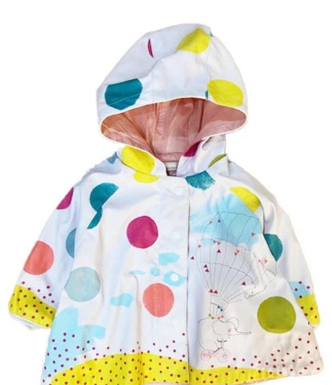 Manteau multicolore