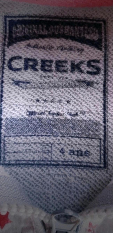 Gilet à capuche 4 ans creeks