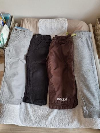 Lot de 4 pantalons 2 ans