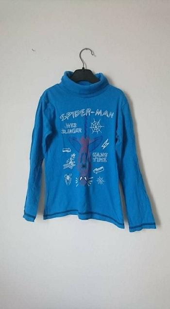 Sous pull bleu spiderman Marvel 8 ans