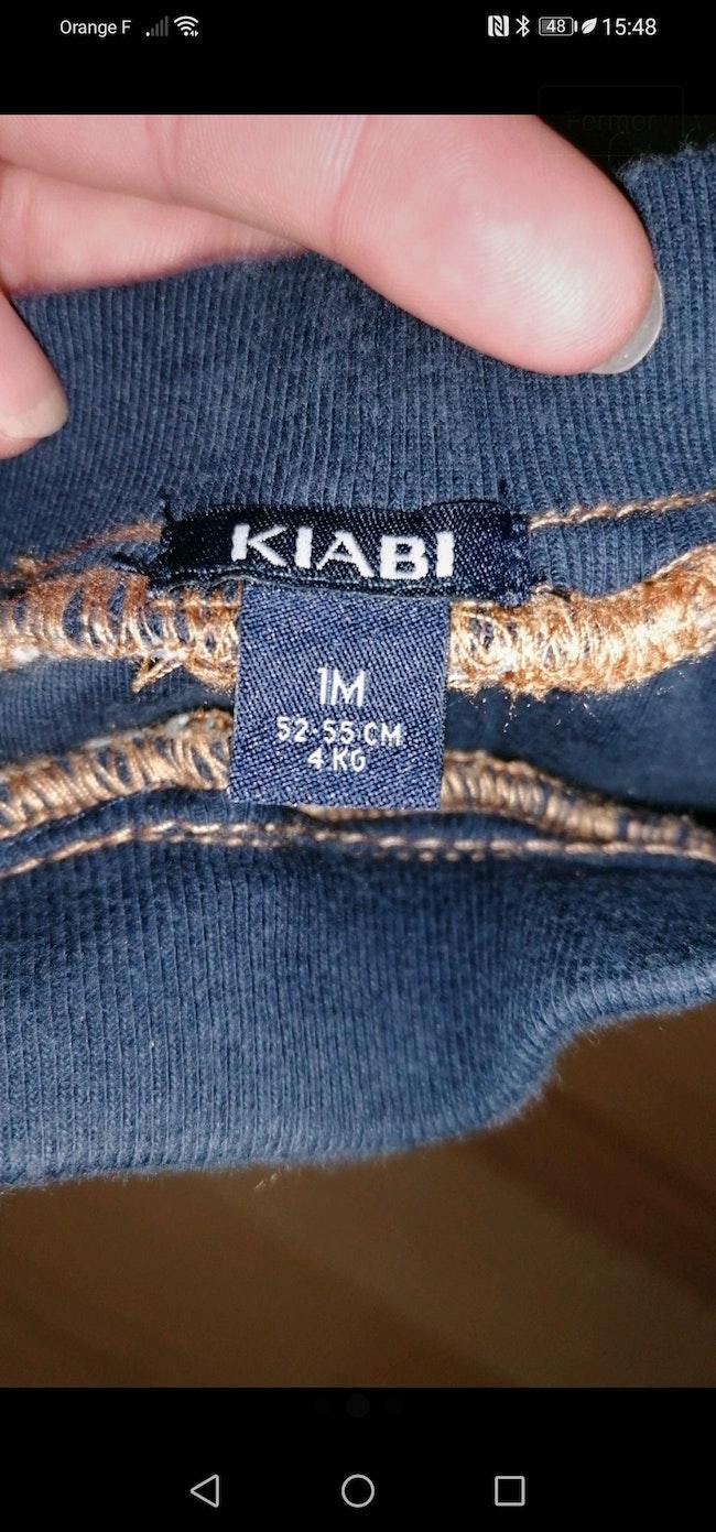 Pantalon kiabi 1 mois