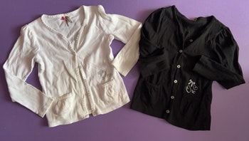 Lot 2 gilets Orchestra 6 ans
