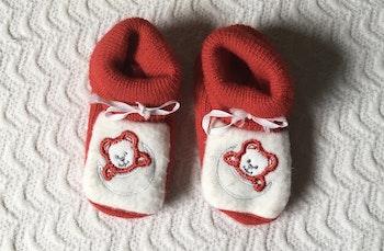 chausson bébé mixte