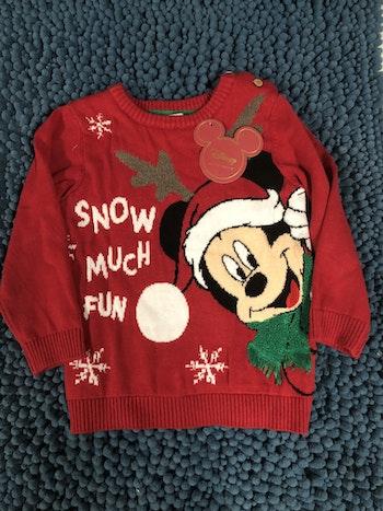 Pull de noël Mickey