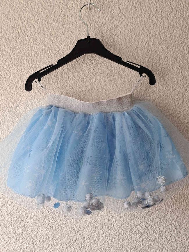 jupe bleu la reine des neiges Disney