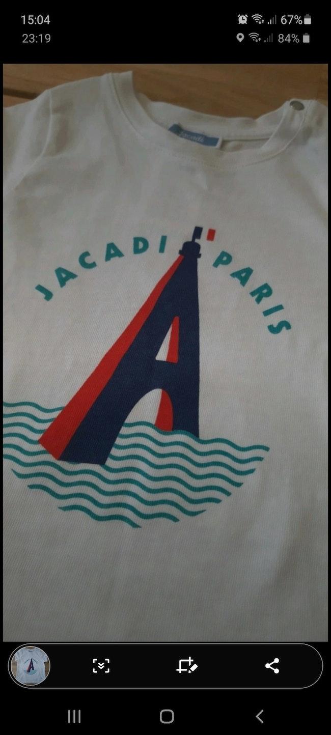 Tee-shirt garçon taille 18 mois Jacadi
