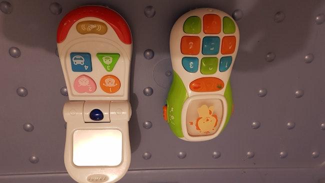 Lot 2 téléphones