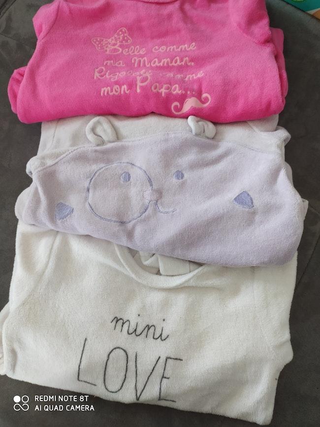 Pyjama fille 3mois