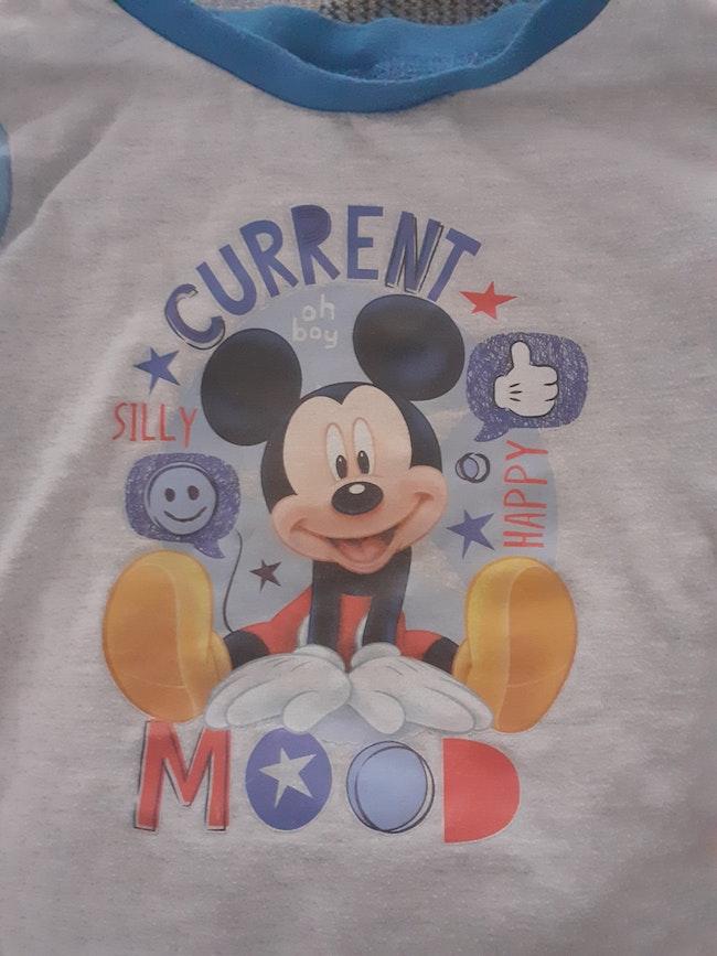 Pyjamas mickey 18/24 mois