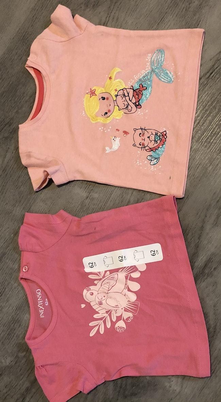 Lots de 2 tee-shirts bébé fille