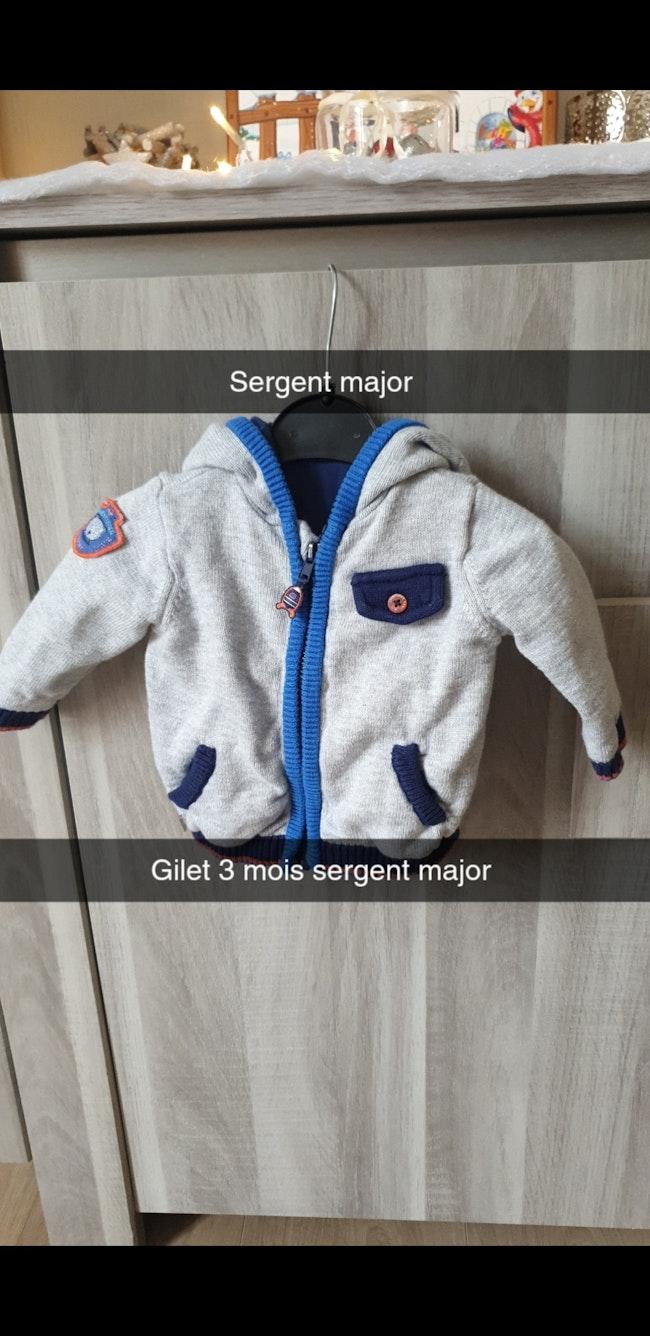 Gilet 3 mois sergent-major