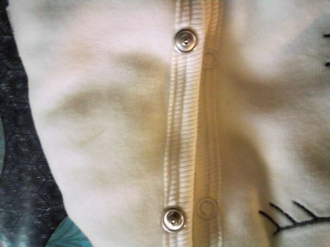 Veste épaisse blanche