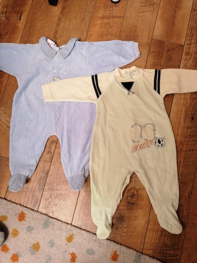 Pyjamas 6 à 9 mois