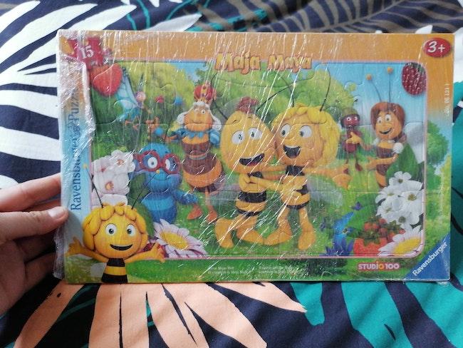 Puzzle maya l'abeille