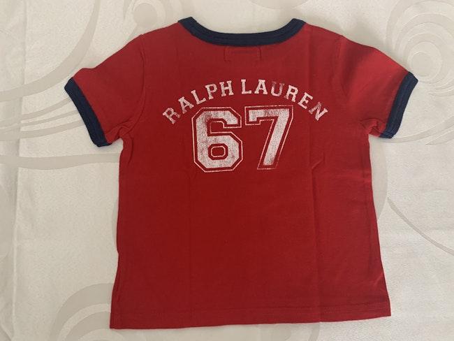 Tee shirt Ralph Lauren 9 mois
