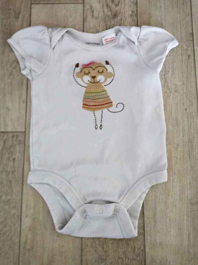 Bodie manches courtes baby gap 3-6 mois