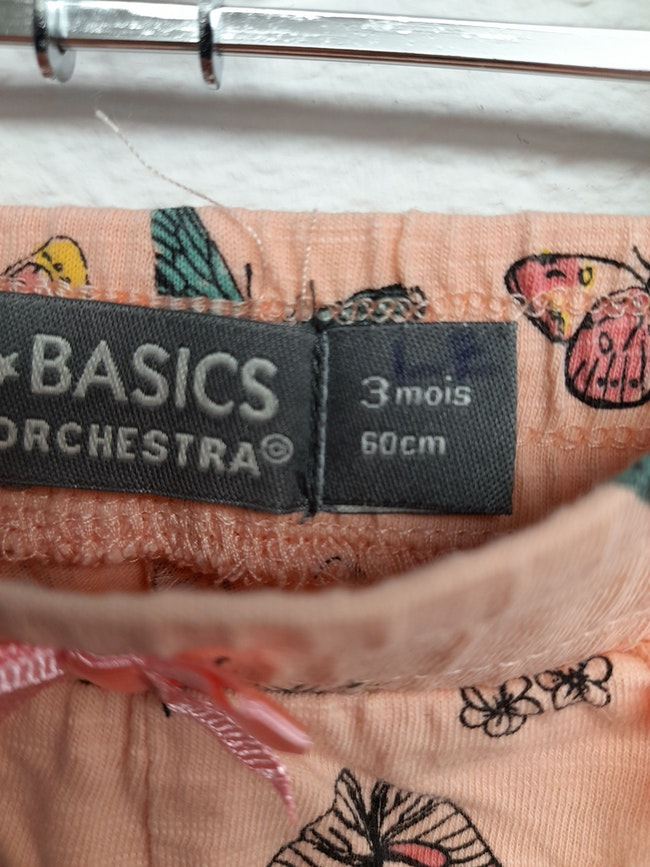 Short 3 mois orchestra