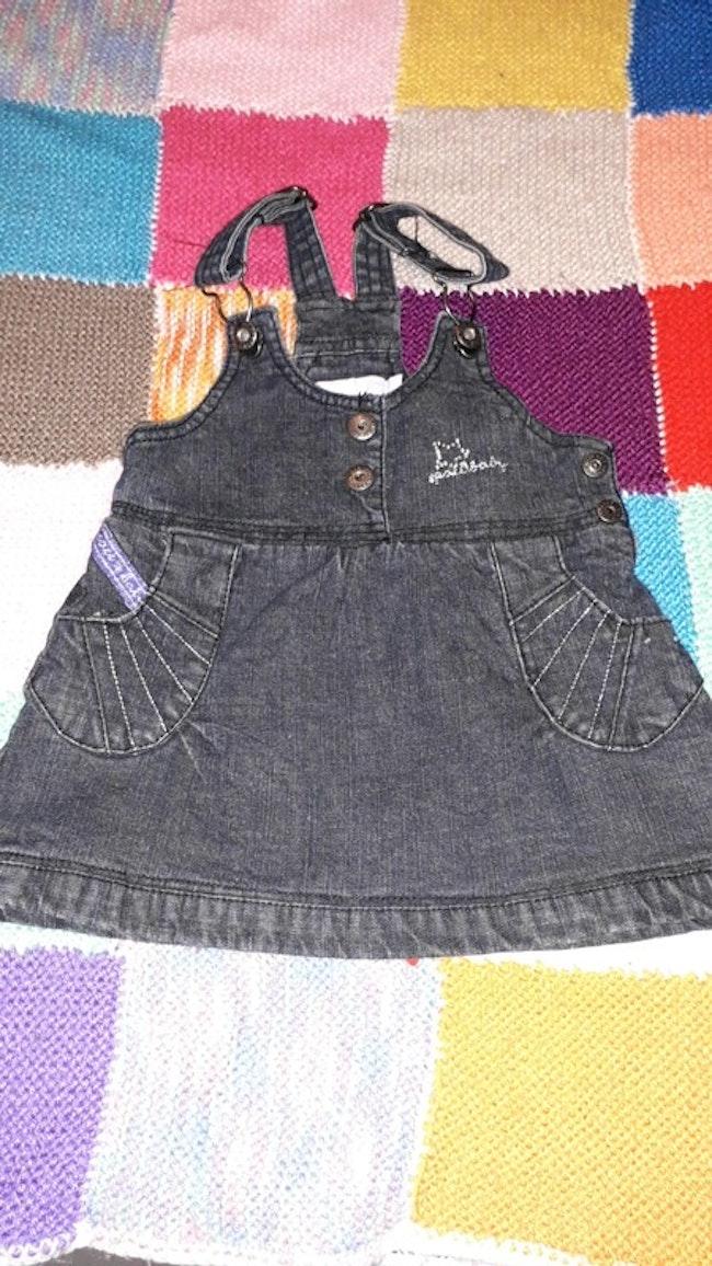 Robe jeans MC baby 3 mois - 98% coton et 2% élastane