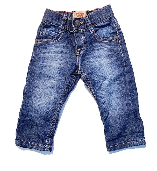 Pantalon bleu 6 mois