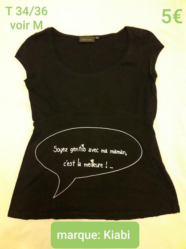 Tee-shirt grossesse