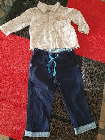 Ensemble chemise et pantalon