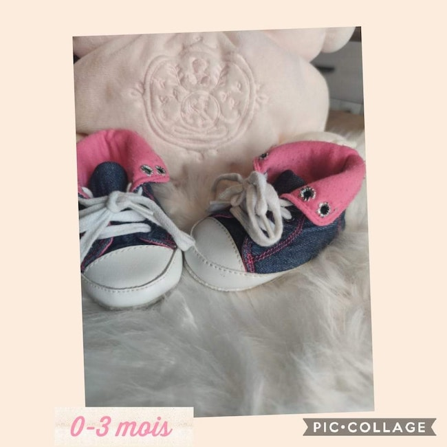Chaussures fille 0-3 mois