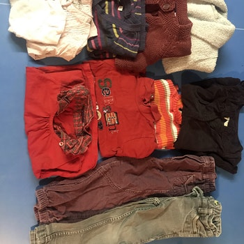 Lot 11 vêtements fille 3 ans sergent major et autres