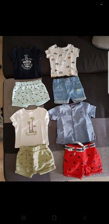 Lots de vêtements garçons 3 mois