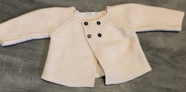 Gilet laine bebe fille