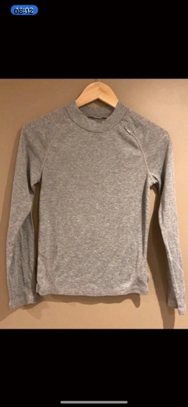 T-shirt gris Wedze