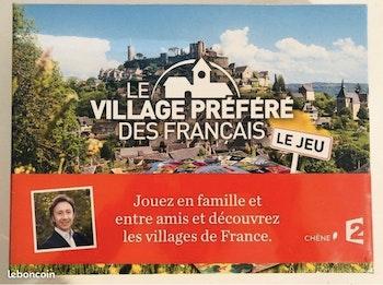 NEUF le village préféré des français France 2 Éditions du Chêne jeu de société lot SOP77