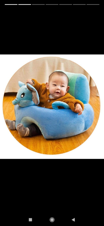Coussin d'apprentissage bébé ( a remplir ∆)