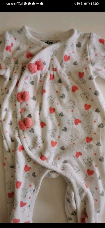 Pyjama en velours Gemo taille 3 Mois