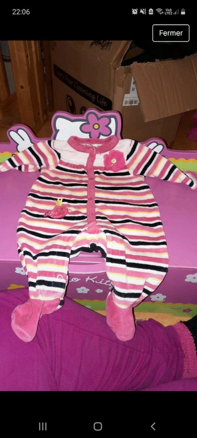 Pyjama bébé fille.