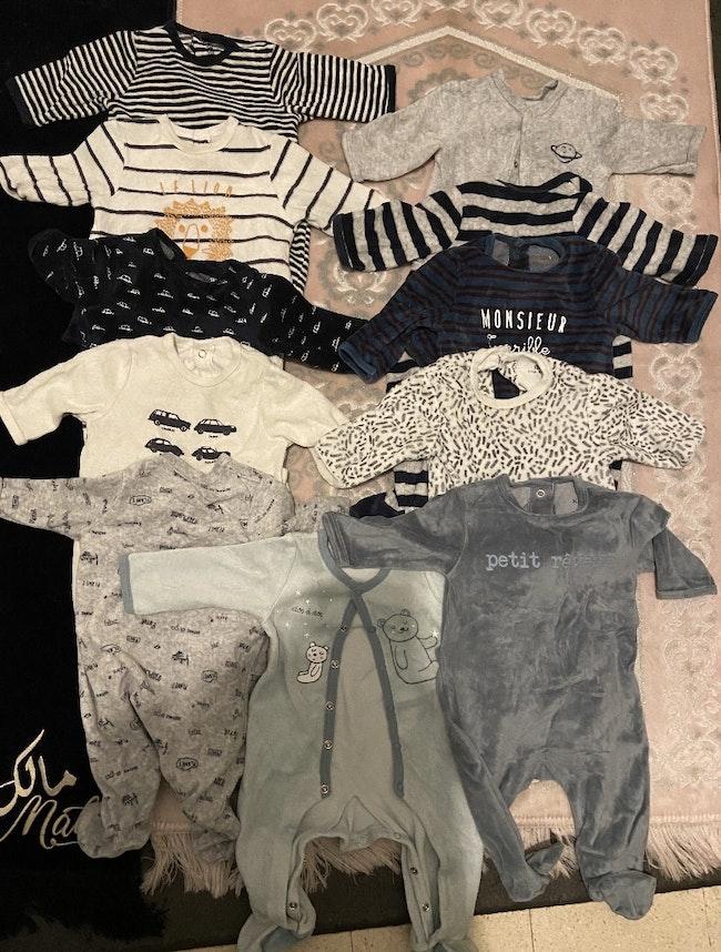 Lot pyjama body garçon 3 mois