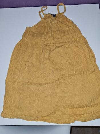 Robe gaz de coton kiabi