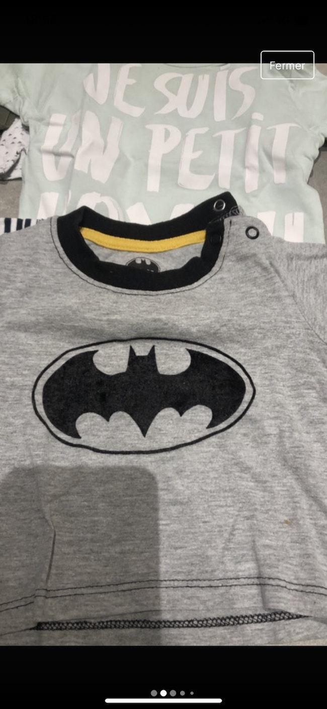 Lot tee-shirts manches courtes (13)/ Batman