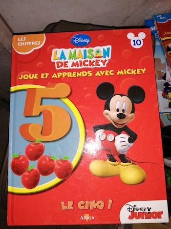 """La maison de mickey """"Japprend les chiffres"""""""