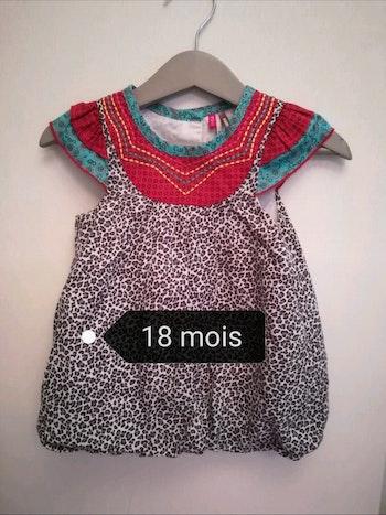 Robe/ tunique taille 18 mois